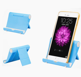 Wholesale Flexible Desk - Universal Portable Lazy Holder Foldable Adjustable Flexible Desk Tablet Stand Holder Phone Bracket Mount for ipad iphone Samsung Smartphone