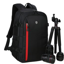 Wholesale Dslr Camera Bag Backpack - 2017 Hot selling New Waterproof Photography Camera video Backpack Camera Photo Bag For Nikon Canon Slr Dslr Camera Lens