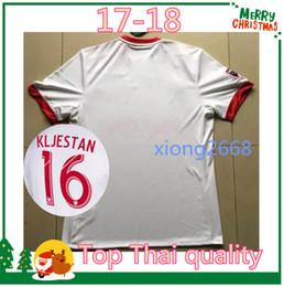 Wholesale Shirt Sport Soccer - best Thai quality 2017-18 Sports New York red soccer Jerseys 17 18 Bull jersey FELIPE GULBRANDSEN KLJESTAN MUYL ALLEN VERON football shirt