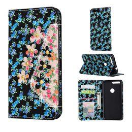 Wholesale Magnetic Stylus - Diamond Jewel Floral Leather Cases Soft TPU Card Slots Magnetic Flip Cover for Google Pixel 5.5 XL LG G3 G4 G5 K7 K8 V10 Stylus 2 LS 775 770