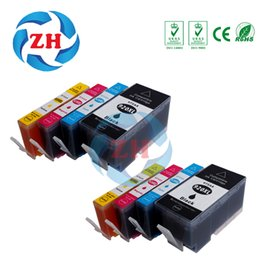 Wholesale Wholesale E Ink - ZH 8 PCS Ink Cartridges 920XL Compatible For HP920 6000 6000wireless 6500 6500wireless 6500a e-All In One Printer