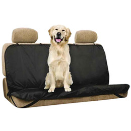Wholesale Pet Cushion Covers - Waterproof Car Bench Back Seat Cover Protector Mat Blanket Rear Safety Travel Cushion for Pet Dog 166812501