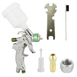 Wholesale Airbrush Cake Decorating - kit pro OPHIR 3 Tips Pro Dual Action Airbrush Kit for Hobby Photo Retouching Cake Decorating Airbrushing Gun_ AC046(1.0mm)