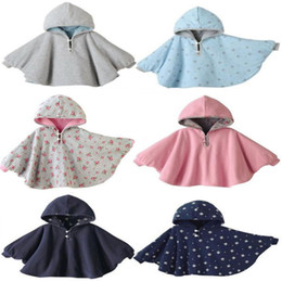 Wholesale baby winter cape - AbaoDo newborn cape kids autumn winter clothing coat fashion design hooded outwear baby cloak infants poncho children's shawl drop shipping
