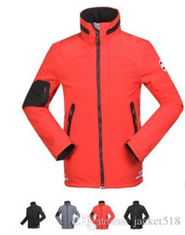 Wholesale Sport Jackets Men Soft Shell - 2017 New men Outdoors Sports windproof waterproof Soft shell Jacket ,Spring autumn Outdoors Camping Hiking Wear Camping Hiking Jackets Coats