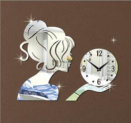 Neue Wanduhren Im Angebot Neue Wanduhr Uhren Horloge Uhr Wohnzimmer Quarz  Nadel Acryl Dekoration 3d
