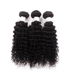 Wholesale tight curly natural hair weave - 2017 Cheap Malaysian Curly Hair 3 Bundles 7A Unprocessed Malaysian human Hair Weave Tight Curly, Malaysian Kinky Curly Hair Bundles