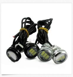 Wholesale Led Eagle Eye Red - 10PCS 10W LED Eagle Eye Lamp Car Up Reverse Lamp Daytime Running Light DRL 3LED light