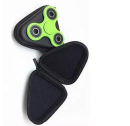 Rueda de dados online-Envío gratis Hand Spinner bag Beneficio inteligencia fidget spinner Bolsa Anti irritabilidad Dados Objetos pequeños Estuche para auriculares