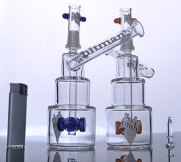 Wholesale Gears Oil - NEW Bucket Oils Rigs HitMan Color gear Glass Bongs recycle Hammerhead Dab recycle Glass Birthday Glass Water Pipe