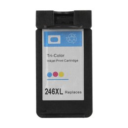 Wholesale Pixma Printers - CL246 CL-246 XL For Canon 246 Ink Cartridge for Canon Pixma IP2820 MX492 MG2924 MX492 MG2520 MG2920 MG2420 MG2400 MG2580 Printer