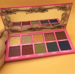Wholesale Smoke Palette - NEW ANDROGYNY Second Generation 10 Colors Eyeshadow Smoked Palette makeup Eye Shadow Palettes Naked Eye Shadow