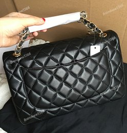 Wholesale Pink White Diamond Dress - 2014 NEW Luxury Brand Women Handbag Diamond Lattice Chain Bag Women Messenger Bags Female Small Crossbody Shoulder Channels bags SIZE 23MM