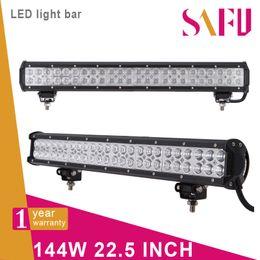 "Wholesale Car Work Light 12v - 22.5"" 144W cree led light bar Truck Work light 48x3W off-road lamp Car Camper combo 12V 24V 4WD 4x4 120W 180w"