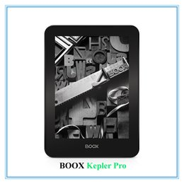 "Wholesale Ebook E Ink - Wholesale- Ebook ONYX BOOX Kepler Pro New ereader 6"" ereader 16GB Bluetooth WiFi e-ink touch screen Android e book Free shipping gift cover"