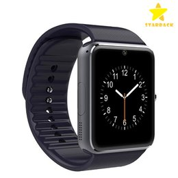Wholesale Ios Control - GT08 Bluetooth Smart Watch with Camera SIM Card Slot and Camera Pedometer Smart Health Watch for Android and IOS Smartphone