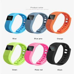 Wholesale Womens Watch Diver - 2017 Wholesale Fashion Mens Womens Sport Bracelet Smart Bluetooth Watch Wristband Heart Rate Monitor