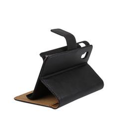 Wholesale Lg L5 Black - GENUINE Wallet Credit Card Stand Leather Case For LG optimus L7 L9 p760 L4 L5 L7 L9 II L40 L70 L80 L90 50PCS LOT