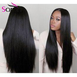 Wholesale Mongolian Russian Mix - 7A Unprocessed Russian Straight Virgin Hair 3Bundle Deals Remy Human Hair Extensions Brazilian Indian Russian Straight Hair Human Weave