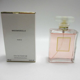 Wholesale Female Smell - Top quality with best price ! 100ml good smell MADEMOISELLE perfume for women with long lasting time fragrance high quality free shipping