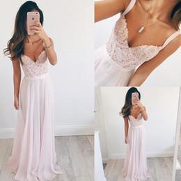 Wholesale Empire Sweetheart Ruffle Wedding Dress - 2017 Beach Wedding Dresses Spaghetti Sleeveless Lace Appliques Sequins Illusion Zipper Back Floor Length Vestidos Bridal Gowns