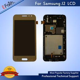 Wholesale S4 Replacement Parts - For Samsung Galaxy Gold J2 J200 LCD Display Touch Screen Digitizer Assembly Replacement Repair Part & Free Shipping