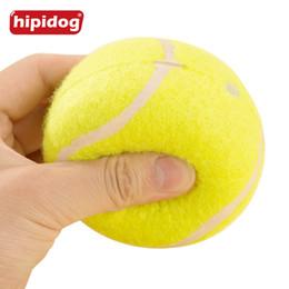 Wholesale Dog Ball Toy Squeak - Hipidog 1 Piece 6cm Dog Puppy Cat Toy Tennis Balls Run Catch Throw Play Toy Chew Squeak Toys