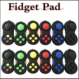 Wholesale Magic Novelties - Fidget Pad Second Generation Fidget Cube Hand Shank Adults Kids Game Controllers Magic Fidget Pad Novelty Anxiety Decompression Toys