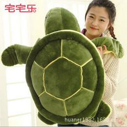 Wholesale Green Turtle Pillow - Wholesale- 40cm Cute Green Sea Turtles   Tortoise cushion pillow Plush Toys,NICI Turtle Plush Toys doll for kids gift
