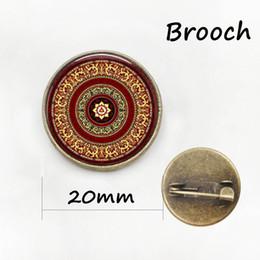 Wholesale Dress Handmade China - Xmas house pins Vintage Handmade Christmas jewelry for men women Mandala Winter Dress Accessories brooches New Year gift
