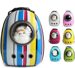 Wholesale Carrier Bag For Pets - U-PET Dog Cat Puppy Carrier Traveler Backpack Travel Shoulder Bag Dog Carrier Travel Sling Bag Pet Backpack for Small Dogs Cats