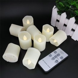Wholesale Colored Battery Tea Lights - Flameless Candles LED Votive Unscented Tealight Tea light - Include CR2450 Battery Operated 200 Hours