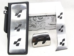 Wholesale R Line Passat - Sport Brake Fuel R36 R-line FootRest accelerator pedal brake pedal Fit For VW Passat CC B6 B7 Super B R36
