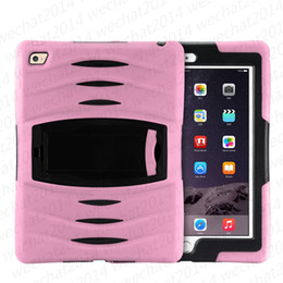 Wholesale Galaxy Wave Case - 2 in 1 Robot Hybrid Heavy Dust Shock Wave with Stand Holder Case Cover for Samsung Galaxy Tab 3 7.0 T210 P3200 Tab 4 T230 T330 P5200