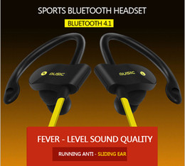 Wholesale Iphone Apple China - 56S China fiery explosion sports Bluetooth headset wireless 4.1 ear headphone stereo universal type soft materials with long pain