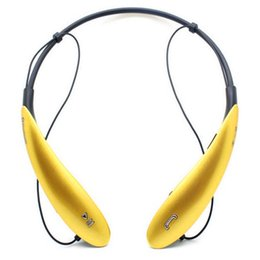 Wholesale Cheap Wholesale Iphone New - 2016 new Hbs800 cheap Bluetooth headset 4.0 lg Neckband Wireless headsets For Samsung Apple iPhone No Logo With Retail Box DHL freeshipping
