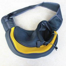 Wholesale Pet Tote Carrier Purse - Foldable Washable Small Dog Cat Cute Pet Travel Carrier Tote Bag Purse Bag Soft Padded Small Pet