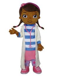 Wholesale Doctor Mascot Costumes - Doc McStuffins mascot costume McStuffins adult doctor mascot costume Doc McStuffins mascot costume free shipping
