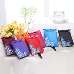 Wholesale Wholesale Fabric Handbags Gifts - Oxford Cloth Handbag Waterproof Shoulder Tote Shopping Bag Gift Multi-Functional Design Environmental Portable Reusable Carrier Bags