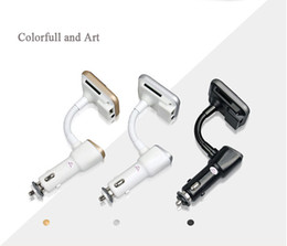 Wholesale Kit Car Building - Bluetooth Handsfree Car Kit With FM Transmitter Car MP3 Audio Player and 2.1A Car Charger Build In Bluetooth CSR V4.0 SD Card