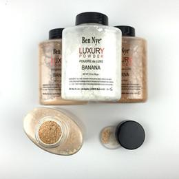 Wholesale Cheap Matte Makeup - Ben Nye Banana Powder 1.5 oz Bottle Authentic Luxury Face Makeup Kim Kardashian Bottle Luxury Powder Poudre Banana Loose Powder Cheap