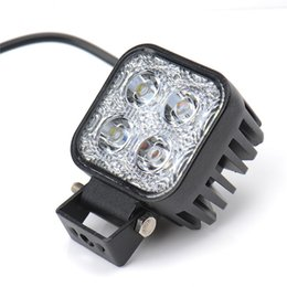 Wholesale 4x4 Atv - 1pc 12w Car LED Light Offroad Work Light Bar for Jeep 4x4 4WD AWD Suv ATV Golf Cart 12v 24v Driving Lamp Motorcycle Fog Light
