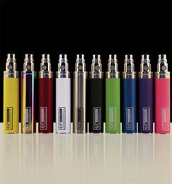 Wholesale E Cigarette Mah - Ego 2200mah Battery E Cigarette GS Ego II 2200 mah Huge Capacity Batteries Vaporizer Pen Fit 510 Thread Atomizers KGO ONE WEEK Battery