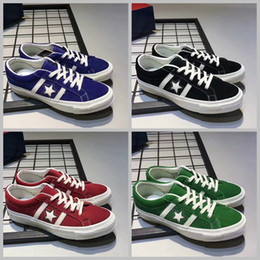 Wholesale Blue Sky Bar - 2017 Converse Jack Star Bars Suede Casual Shoes Low Cut Chuck Taylor 70s Men Women Running Sneakers All Star Canvas Skateboarding Shoes