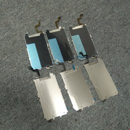 Wholesale Iphone Lcd Button - For Apple iPhone6 LCD Metal Backplate Shield Plate with Home Button Extend Flex Cable for iphone 6 4.7Inch 5.5Inch 6 Plus