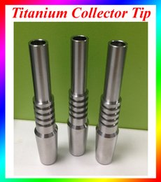 Wholesale Titanium Nail Wholesale - Titanium Nectar Collector Tip Titanium Nail 10mm 14mm 18mm Inverted Nail Grade 2 Titanium Tip Ti nail For Glass Nectar Collector