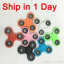 Wholesale The Best Price Hot Toy Fidget Spinner EDC Hand Spinners Decompression Anxiety Finger Toys Free DHL