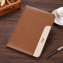 Wholesale Ipad Mini Luxury - Luxury Leather Ultra Thin Smart Case Stand Cover for Apple iPad Air 2 3 4 5 mini