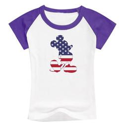 Wholesale Micky Shirt - star micky child patchwork sleeve shirt cotton fashion kids tee style shirt short summer tee dress