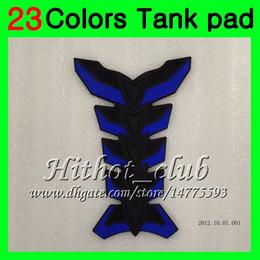 Wholesale 1989 Honda Cbr - 23Colors 3D Carbon Fiber Gas Tank Pad Protector For HONDA CBR250RR 88 89 MC19 CBR250 RR CBR 250RR CBR 250 RR 1988 1989 3D Tank Cap Sticker